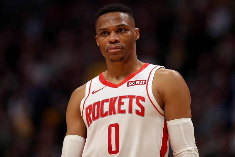 Russell Westbrook is in terrific form for the Rockets