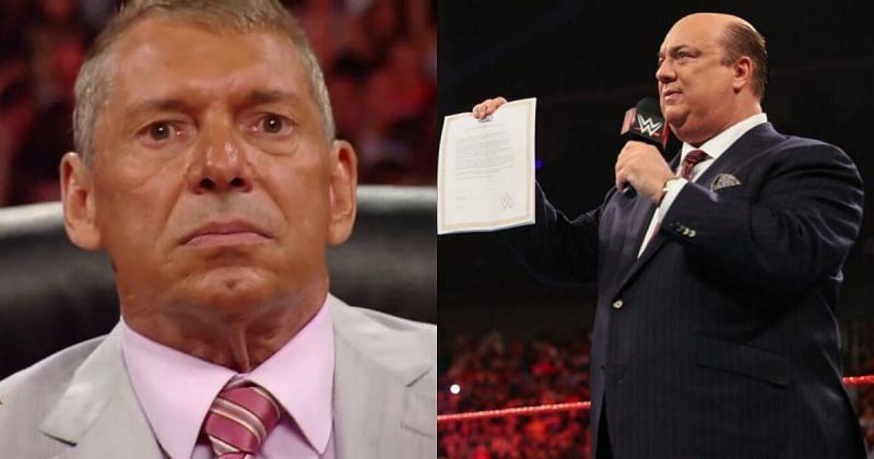 Vince McMahon/ Paul Heyman.