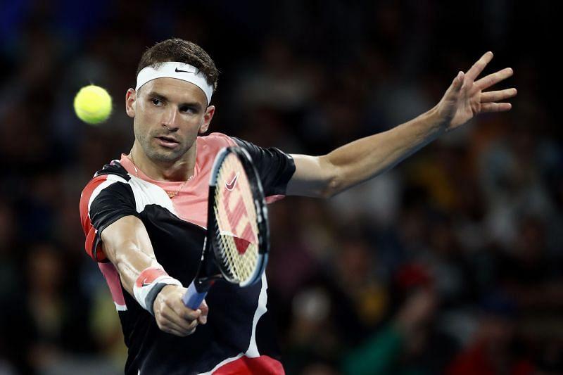 Grigor Dimitrov took a last-minute wildcard into the tournament