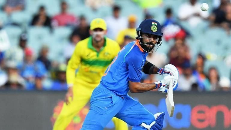 Kohli against Australia