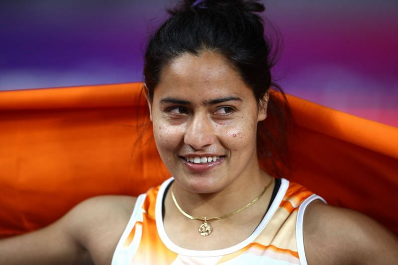 Annu Rani fell short of the Qualifying Standard for Tokyo Olympics by 2.85 meters in the same meet