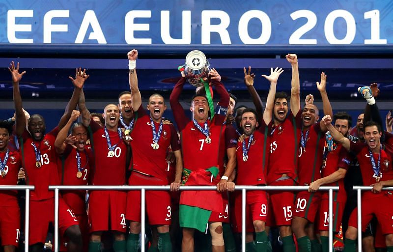 Cristiano Ronaldo led Portugal to its first-ever international championship during Euro 2016