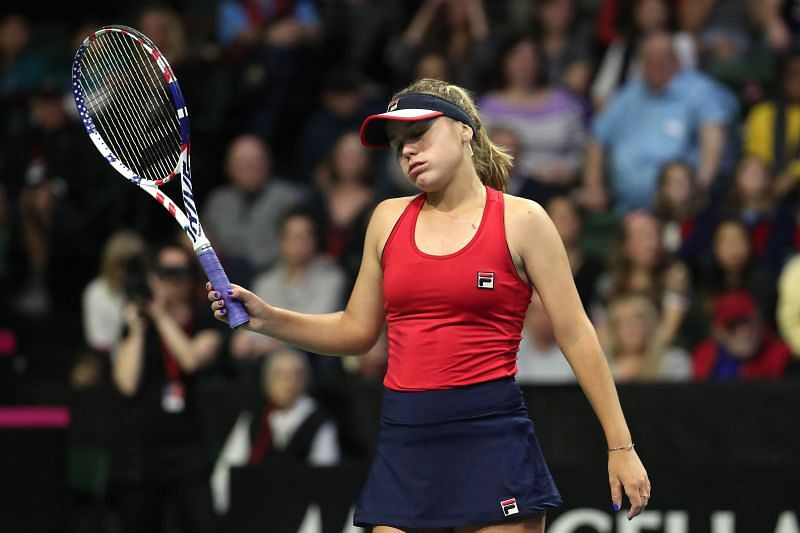 Kenin has struggled for results since her triumph in Melbourne in January this year.