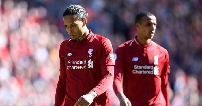 Virgil van Dijk has had very little help from his central defence partners for the entire season