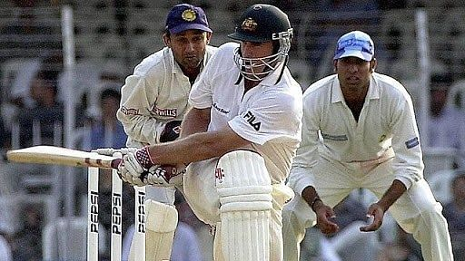 Hayden was at his best against India in 2001