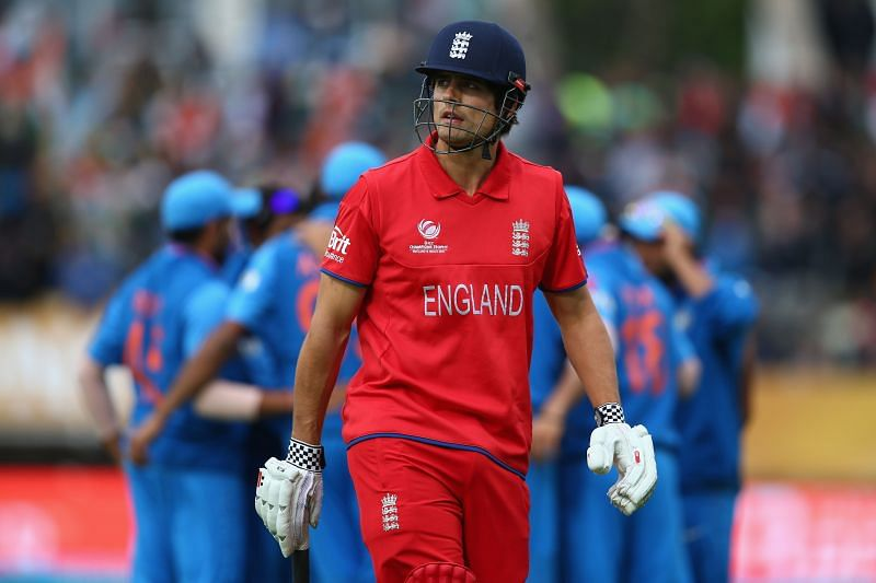 Alastair Cook never featured in a World Cup match