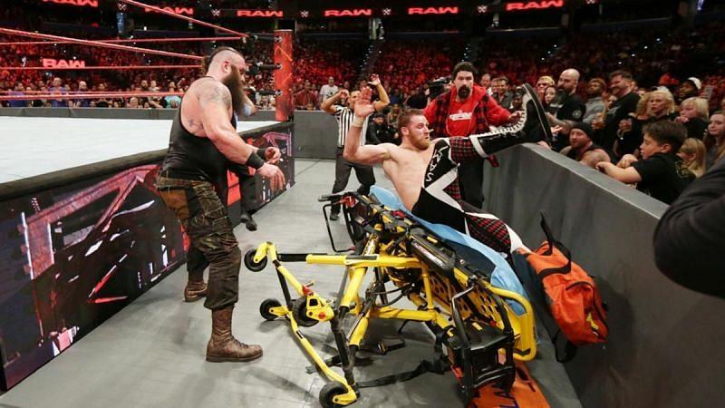 Braun Strowman might destroy Sami Zayn.