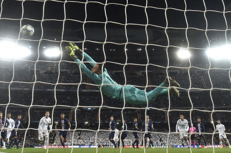 Keylor Navas has four clean-sheets in seven Champions League games this season