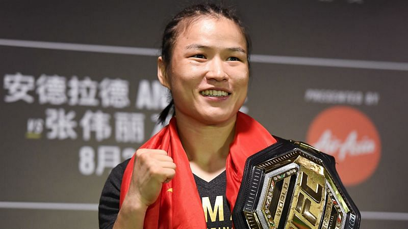Weili Zhang remains the UFC Strawweight queen, but who should she face next?