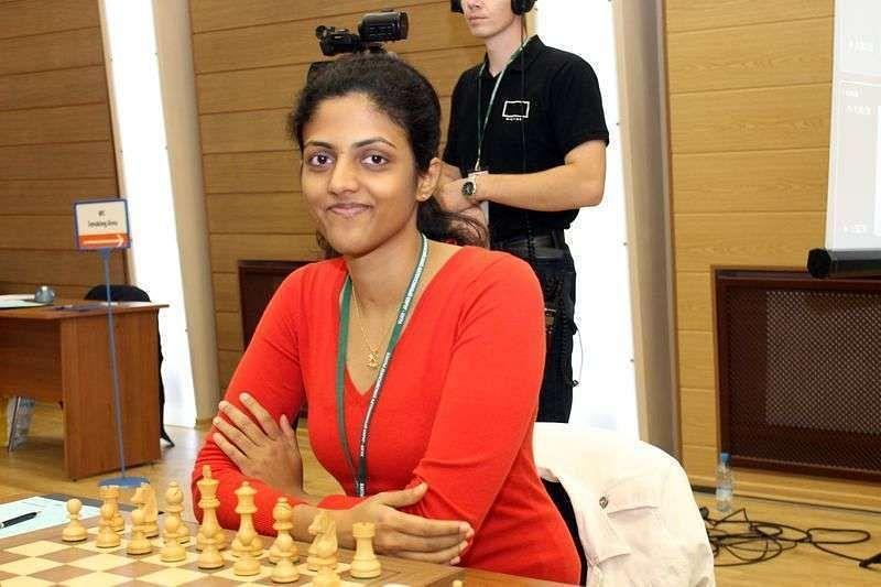 Dronavalli Harika off to a good start at the 3rd Women