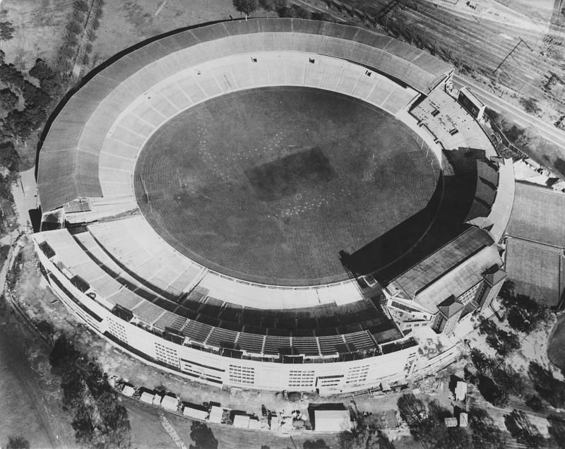 Melbourne Cricket Ground hosted the first-ever Test match