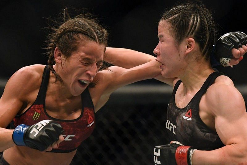 A rematch between Zhang and Joanna Jedrzejczyk would have everyone excited
