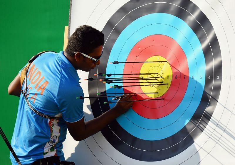 Atanu Das in action
