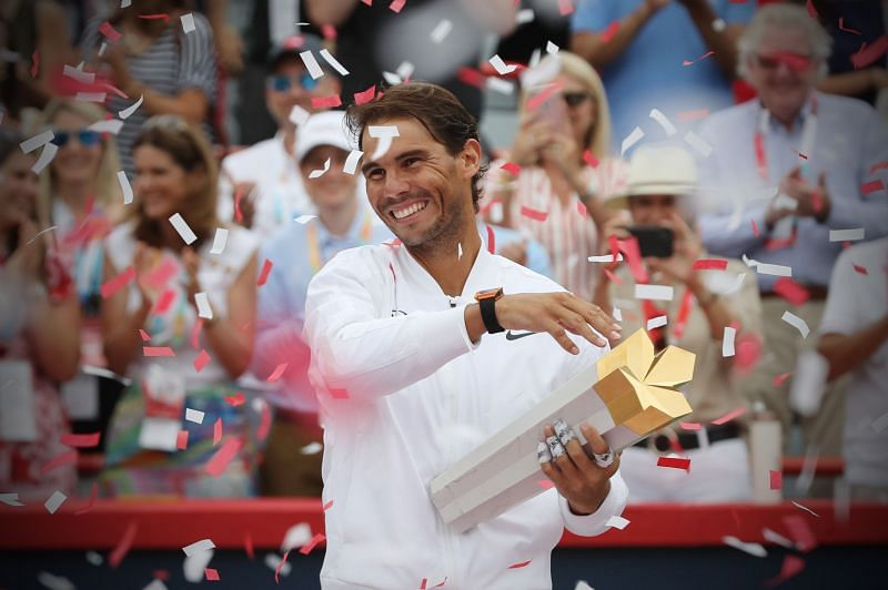 Nadal lifted his 35th Masters 1000 title at 2019 Coupe Rogers.