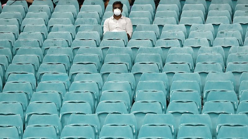A fan at the SCG