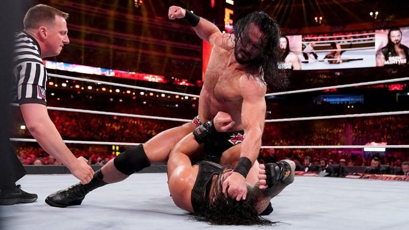 They may not have a match together, but is it really Reigns v McIntyre again at WrestleMania this year?