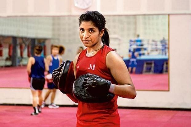 Simranjit Kaur lost the final encounter to settle for a Silver Medal