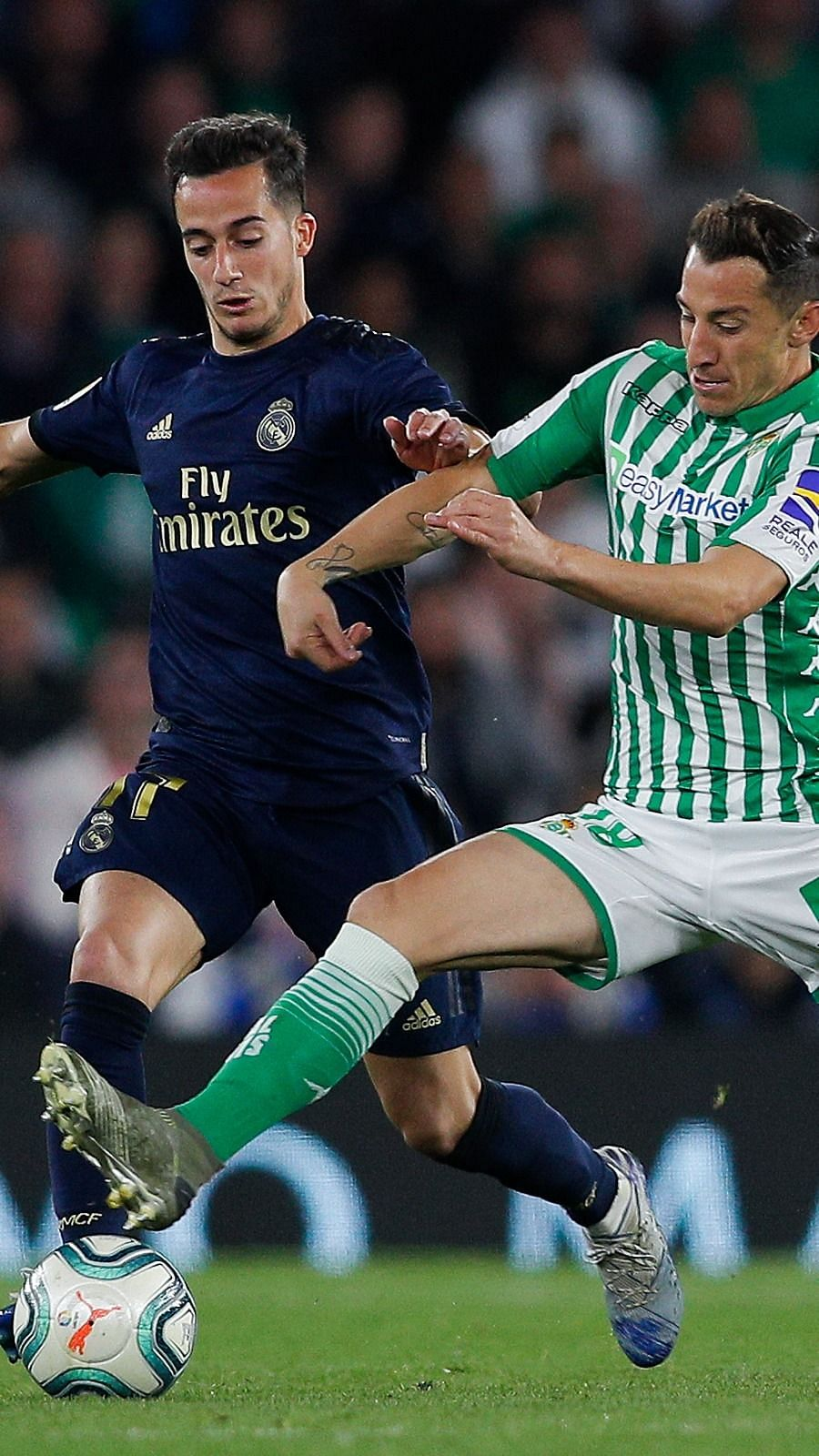 Real Betis 2-1 Real Madrid: Real Madrid Player Ratings