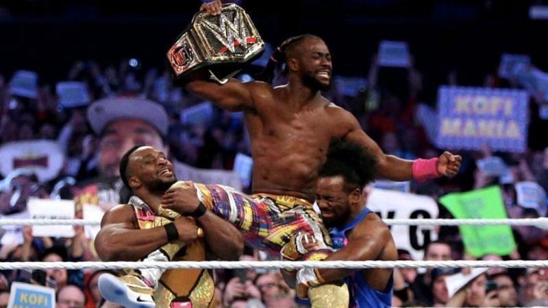 WWE चैंपियन कोफी किंग्सटन