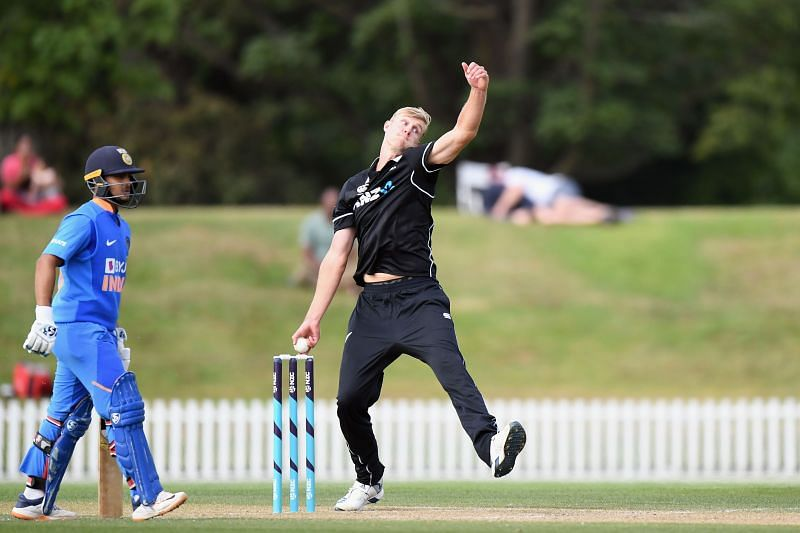 Kyle Jamieson shone in the series against India