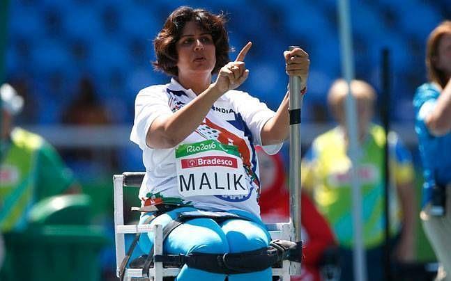 Deepa Malik - Rio Paralympics Silver Medalist and now PCI President