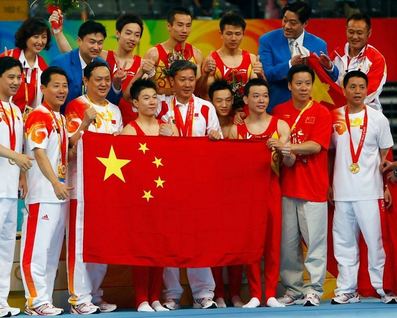 The Chinese contingent