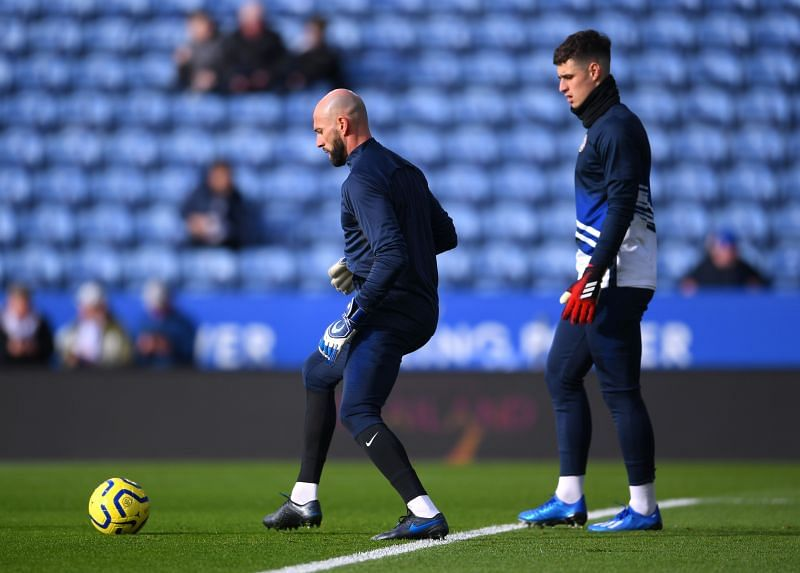 Kepa Arrizabalaga is expected to guard the Chelsea net today