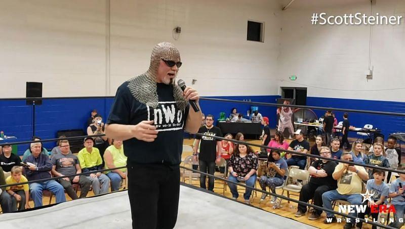 Scott Steiner (Credits: New ERA Wrestling)