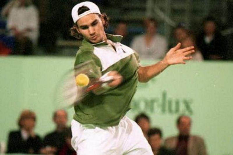 Federer in 1999