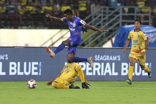 Raynier Fernandes of Mumbai City.