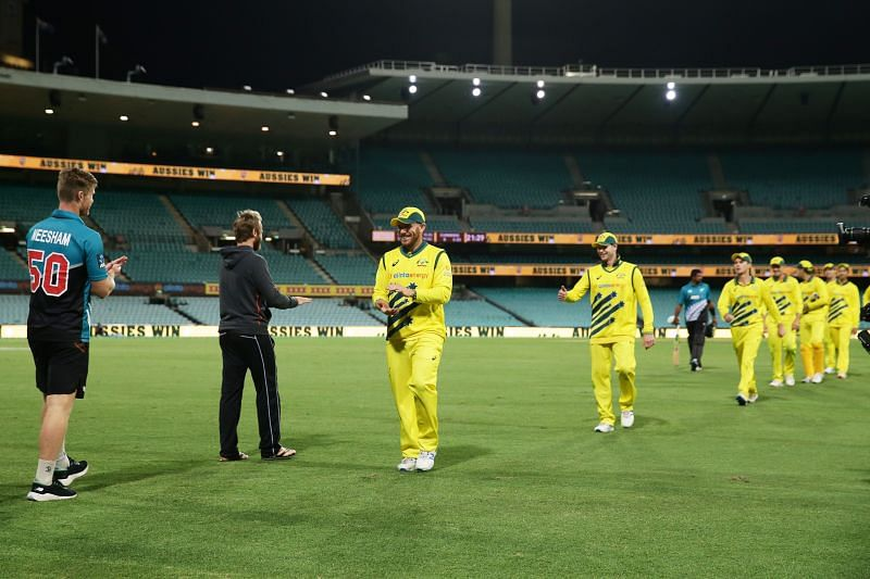 Australia defeated New Zealand in the first ODI