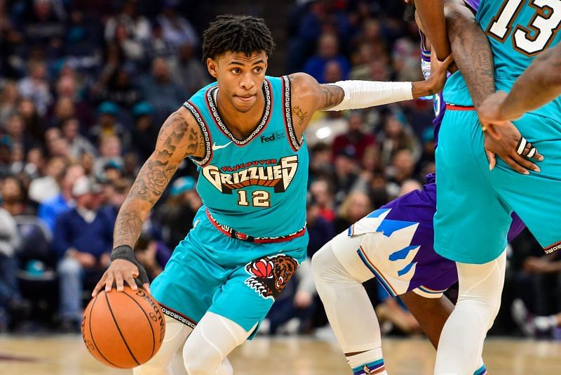 Ja Morant is leading the Grizzlies charge for a playoff finish