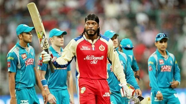 Chris Gayle also holds the record for the highest individual score in IPL