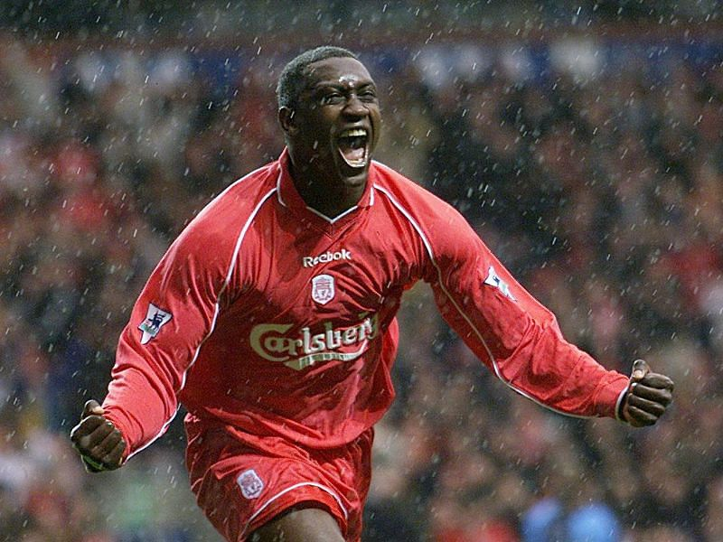 Heskey is praised for his ability to set up the goals for others as well as his goalscoring prowess.