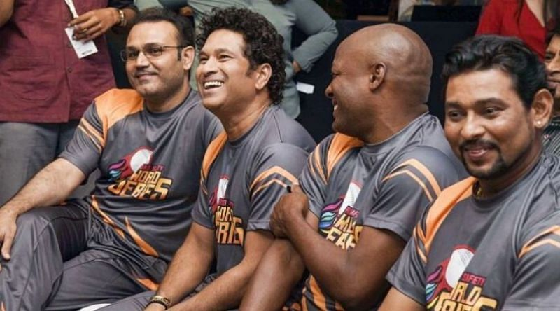 Virender Sehwag, Sachin Tendulkar, Brian Lara, and TM Dilshan will play in Road Safety World Series