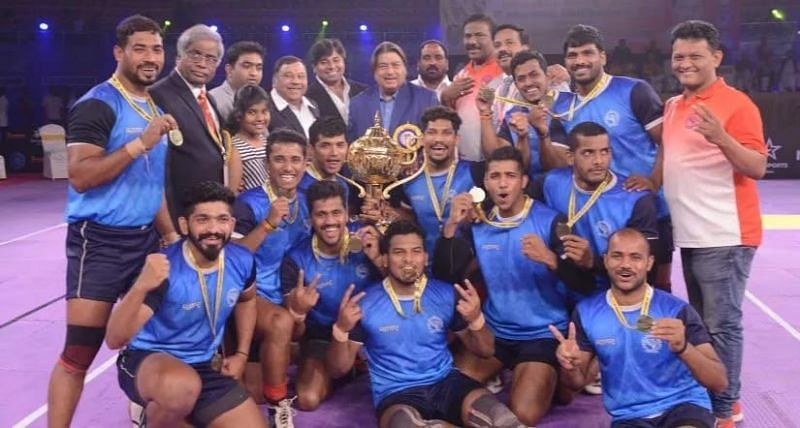Maharashtra defeated the then defending champions Services to win the title after 11 years!