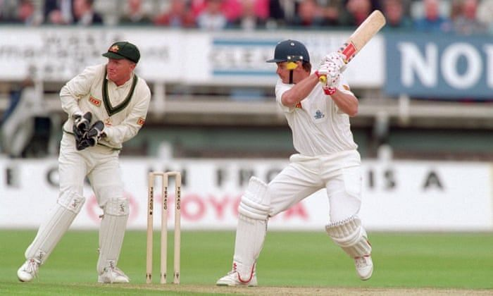Robin Smith in 1993 became the first player to score over 150 runs in an ODI in a losing cause