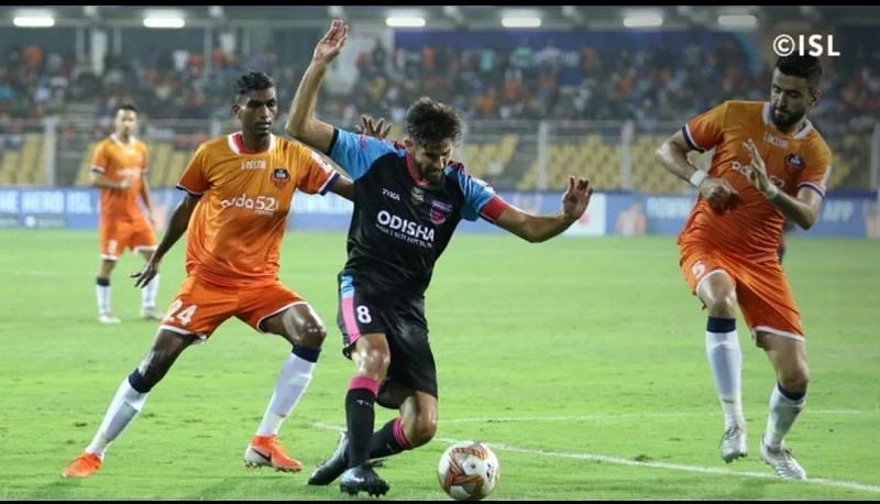 Jahouh (R) and Lenny (L) are vital to FC Goa
