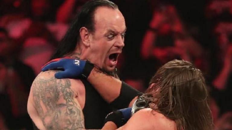 Undertaker faces AJ Styles at WrestleMania