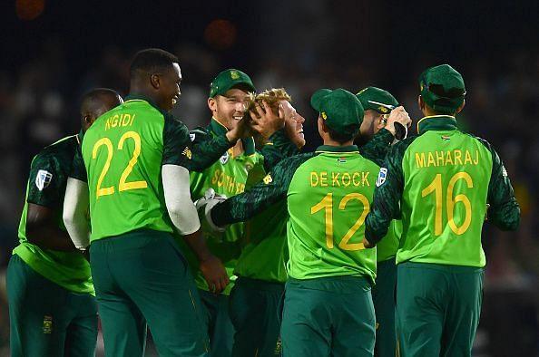 दक्षिण अफ्रीका वनडे टीम का ऐलान