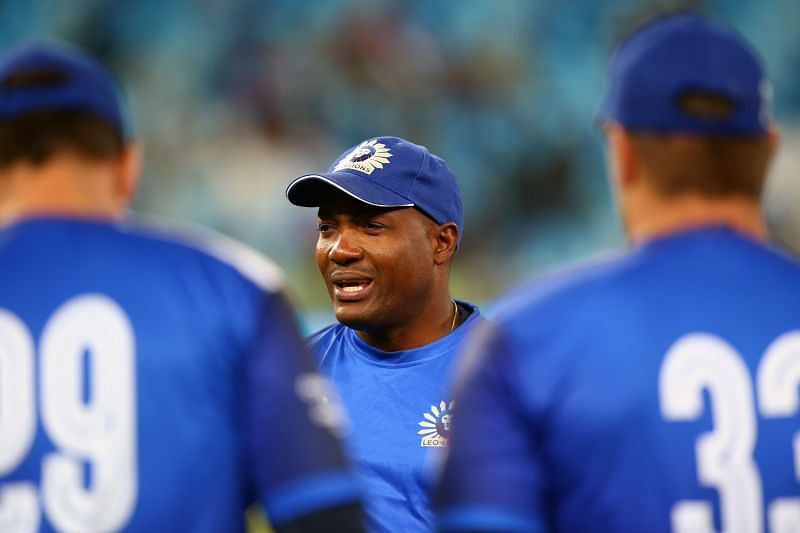 Brian Lara looked in sublime touch in the Bushfire Cricket Bash