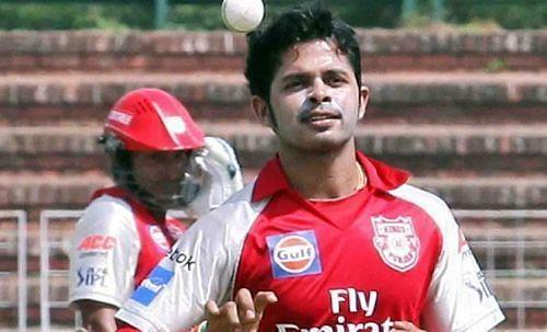 किग्स इलेवन पंजाब में शामिल रहे तेज गेंदबाज एस श्रीसंत