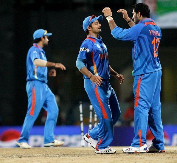 युवी ने गेंद के साथ लिए दो विकेट