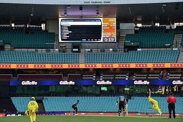 ऑस्ट्रेलिया  vs न्यूजीलैंड मैच