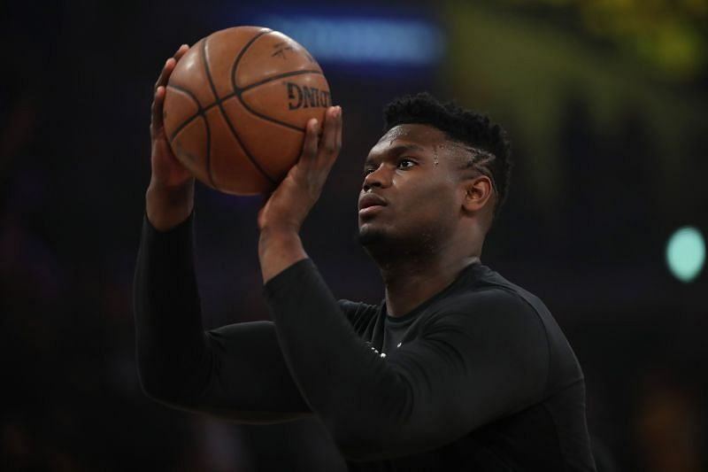 Zion Williamson is shooting over 40% from range