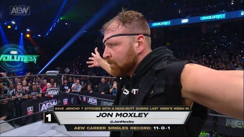 जॉन मोक्सली ने AEW की वर्ल्ड चैंपियनशिप पर कब्जा कर लिये