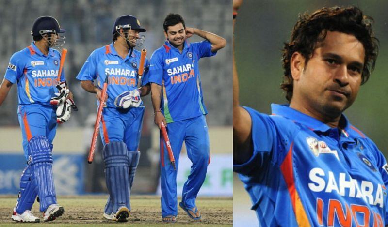 विराट कोहली ने बनाया सचिन तेंदुलकर के आखिरी मैच को खास