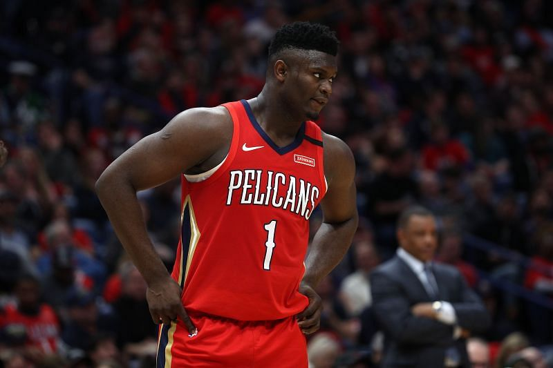 Zion Williamson is the first teenager in NBA history to score 20 or more points in 10 consecutive games
