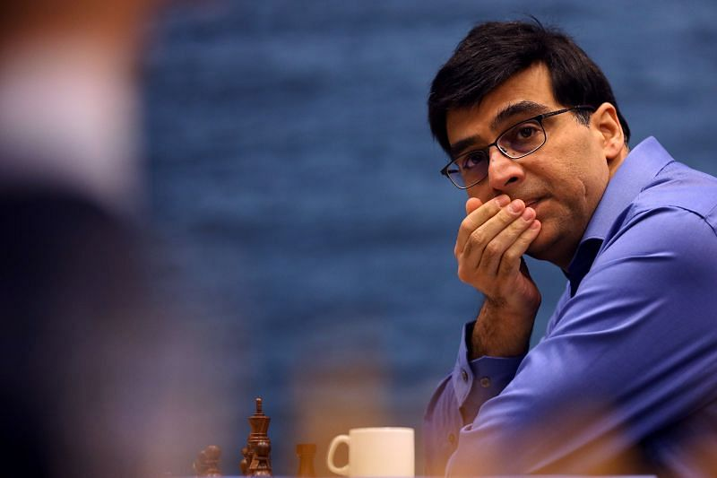 Anand at the 82nd Tata Steel Chess Tournament