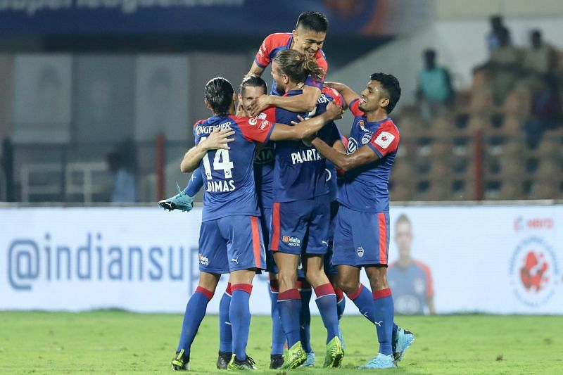Bengaluru FC scored the third-lowest number of goals in the league phase